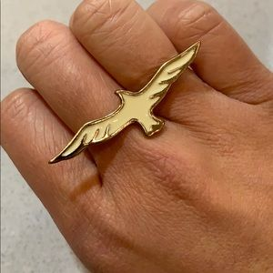 Forever 21 - Bird Double Band Ring
